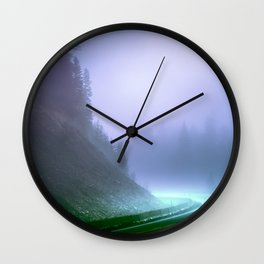 Alien Arrival Wall Clock