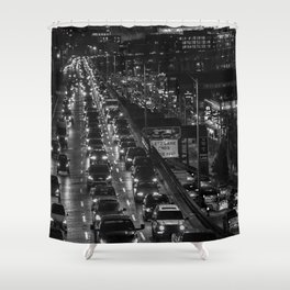 Seattle Viaduct Shower Curtain