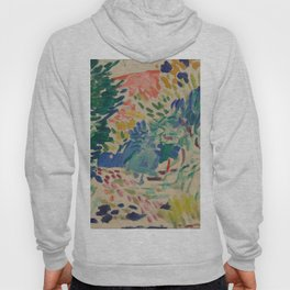 Landscape at Collioure by Henri Matisse Hoody