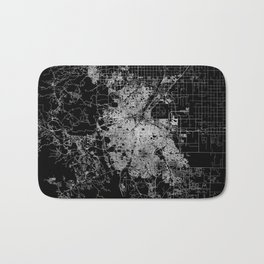 Denver map Bath Mat
