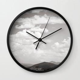Cloud Coverage Wall Clock
