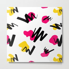 Funky Abstract - Vibrant Metal Print