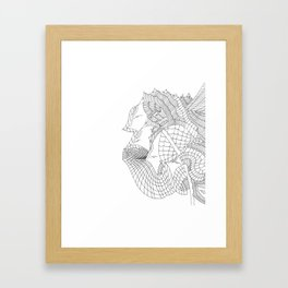 KIMMIE MCDOWELL Framed Art Print