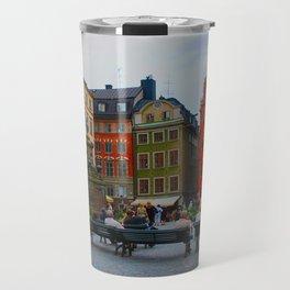 Stortorget Square in Gamla stan - Stockholm Travel Mug