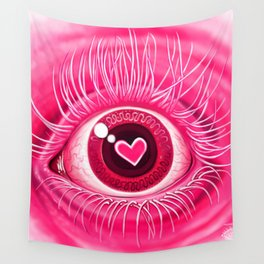 Eye Heart You Wall Tapestry