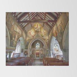 Berwick Church Throw Blanket
