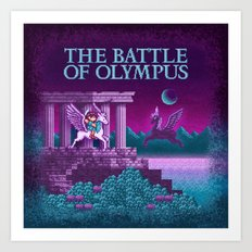The Olympus of Battle Art Print