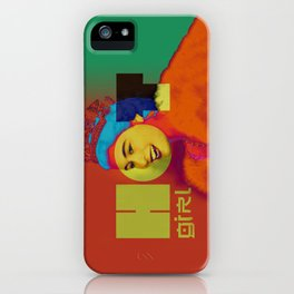 Hot Girl Hot Queen iPhone Case