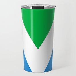 Official Vegan Flag Travel Mug