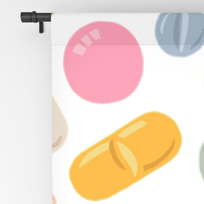 Sunny Pills Blackout Curtain