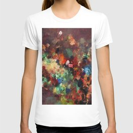 Colorful Contemporary Abstract Art T-shirt