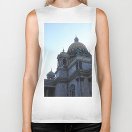 The architecture of St. Isaac's Cathedral. Biker Tank