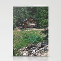 cabin Stationery Cards featuring Cabin  by Dillonmakar
