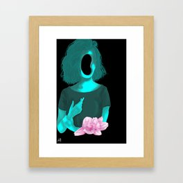 I used to be smart, Now I'm just stupid Framed Art Print