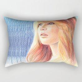 Jennifer Lawrence Rectangular Pillow