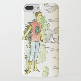 Hollow Chest iPhone Case