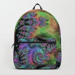 Psychedelic Fractal Kaleidoscope Backpack