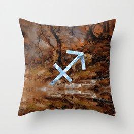Fine Zodiac / Sagittarius Throw Pillow