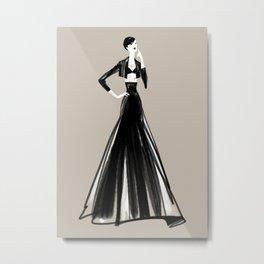 Fashionsketch 04 Metal Print