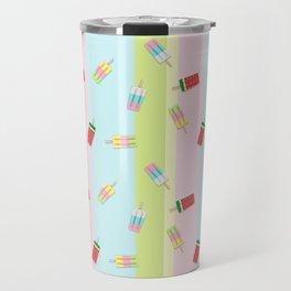 Popscicles Summer Pastel Colors Travel Mug