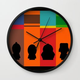 SouthPark: Meet Some Friends of Mine Wall Clock