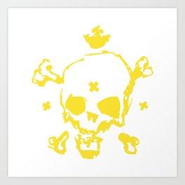 XXX Skull Art Print