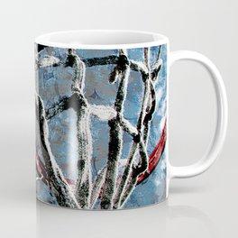 Basketball art swoosh vs 43 Coffee Mug