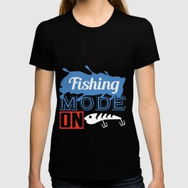 fishing mode on T-shirt