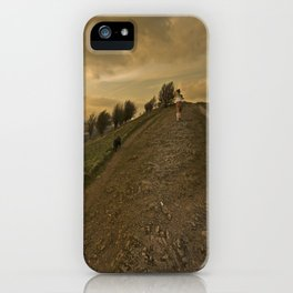 Wuthering hills iPhone Case