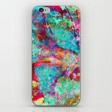 abstract orchid iPhone Skin