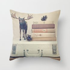 We Took To The Woods Throw Pillow