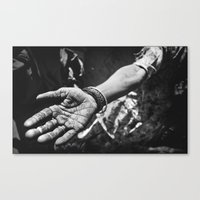 work hard Canvas Prints featuring Hard work by BeermanPhotography