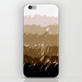 Shades of Sepia iPhone Skin