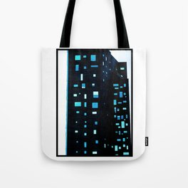Building at Dusk - New York City Tote Bag