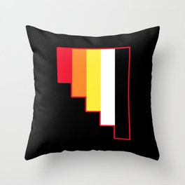Akoisexuality in Shapes Throw Pillow