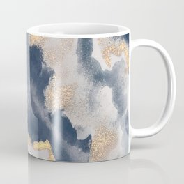 All that Shimmers – Gold + Navy Geode Coffee Mug