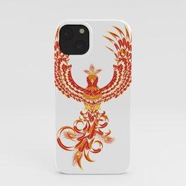 Mythical Phoenix Bird iPhone Case