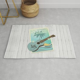 Life is better with an ukulele Rug