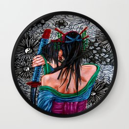 Samuria Wall Clock
