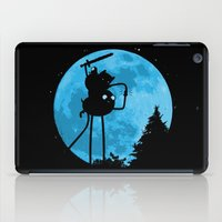 finn and jake iPad Cases featuring A.T. - With Finn and Jake by Duke Dastardly