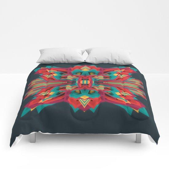 Summer Calaabachti Heart Comforters