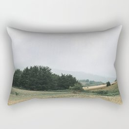 Calm and Peace in the Mountains | Nature and Landscape Photography Rectangular Pillow
