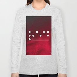 Red Abstract Passion Long Sleeve T-shirt