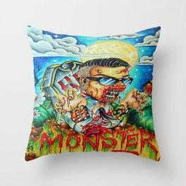 MonsterMash Throw Pillow