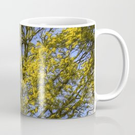 Summer Tree Art Texture Coffee Mug