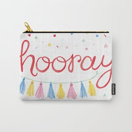 Hooray Confetti Party Art Carry-All Pouch