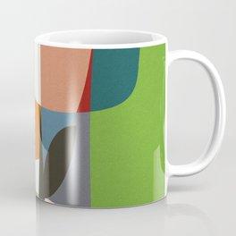 mid century garden II Coffee Mug