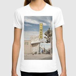 Liquor Store Yucca Valley T-shirt