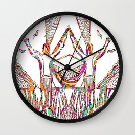 We gave our souls to the wild Wall Clock