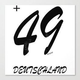 49 - Germany Canvas Print